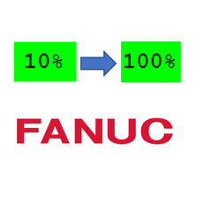 How to Change a Fanuc Robot's Default Speed on Cold Start