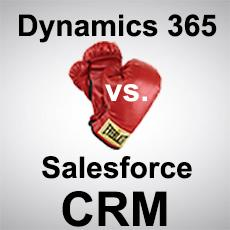 CRM Showdown: Microsoft Dynamics 365 vs. Salesforce