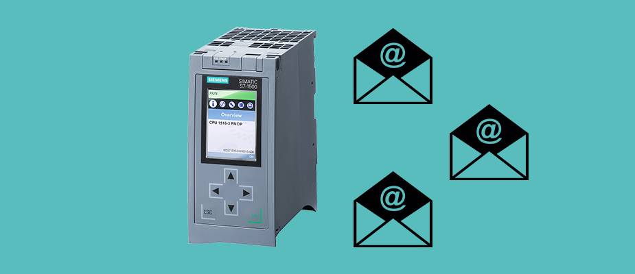 Sending Emails with a Siemens 1500 PLC