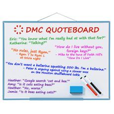 DMC Quote Board - July 2016