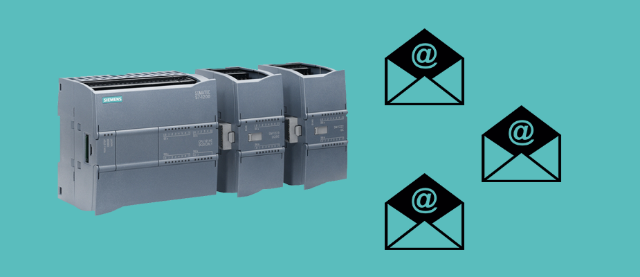 Sending Emails with a Siemens 1200 PLC