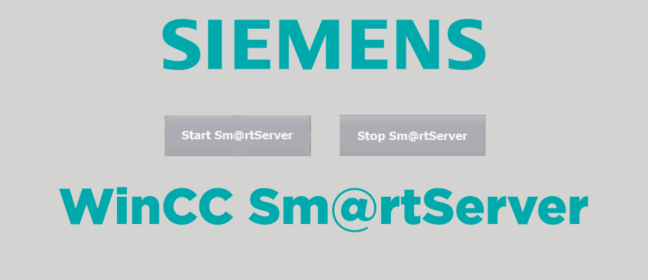Siemens WinCC Sm@rtServer Set-Up