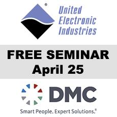 DMC to Present at UEI Seminar Series on April 25