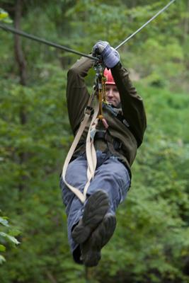 Ziplining and Customer Service