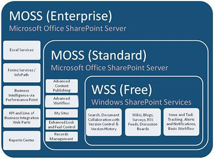 WSS or MOSS - Which Version of SharePoint is Right for Us?