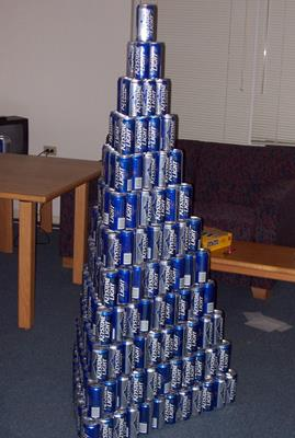 Geek Challenge Results: New Year's Beeramid Part II