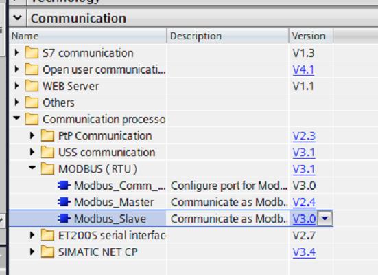 Using an S7-1500 PLC as a Modbus RTU Slave   DMC, Inc