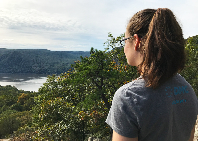 Becca and Hiking Views