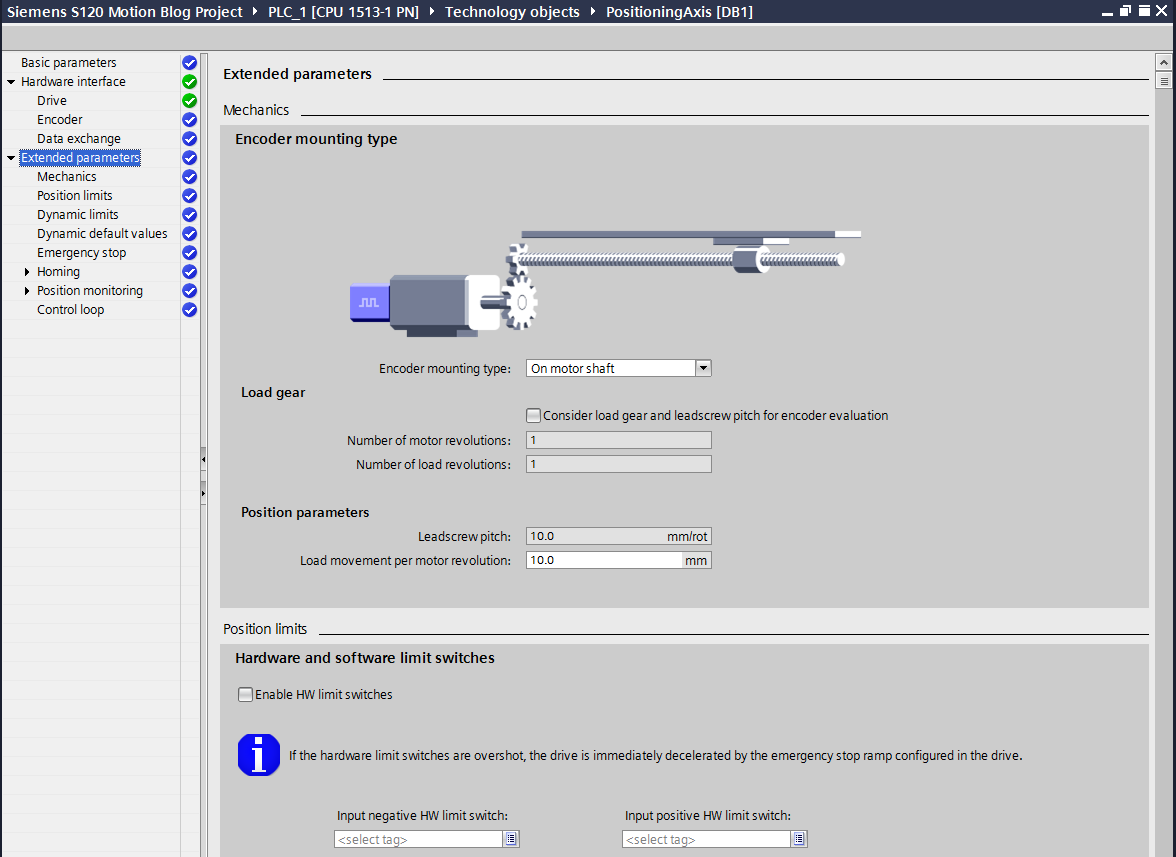 Motion Control Solutions with Technology Objects in Siemens TIA