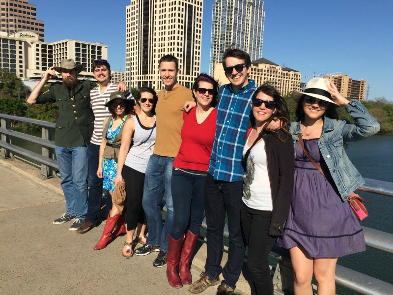 group pic in austin