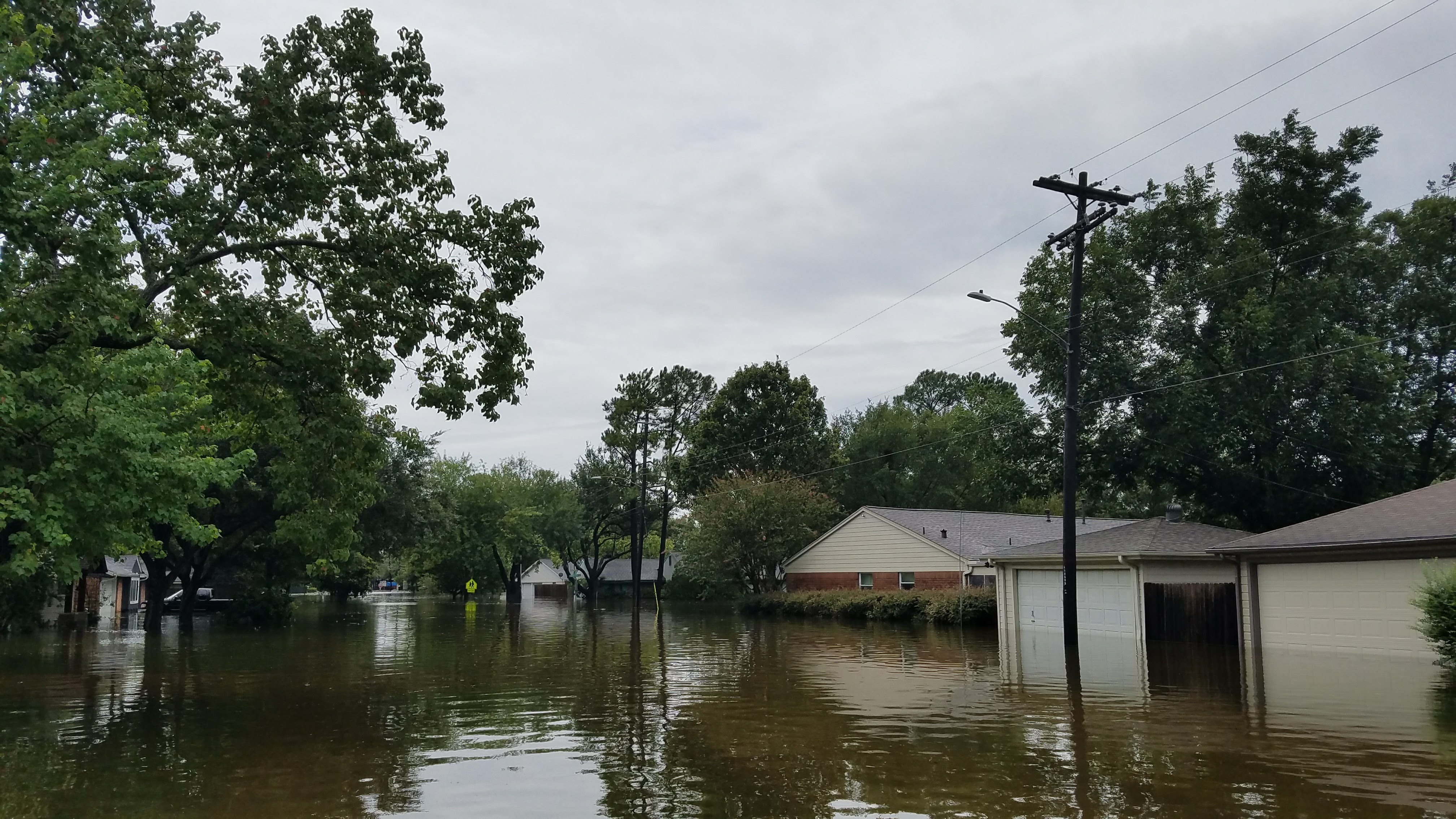 Westbudy/Meyerland Area During Harvey