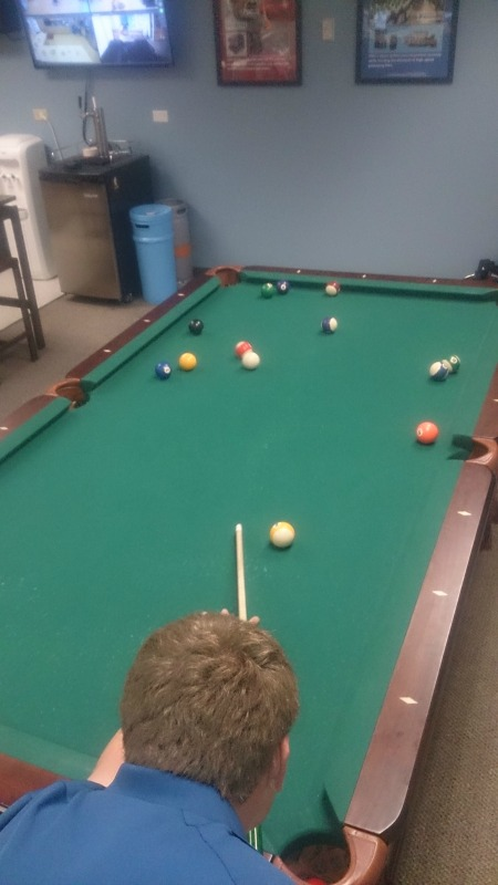 Denver pool table