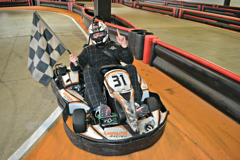 Systems Engineer Tyler Brinks is confident that he will win the race.