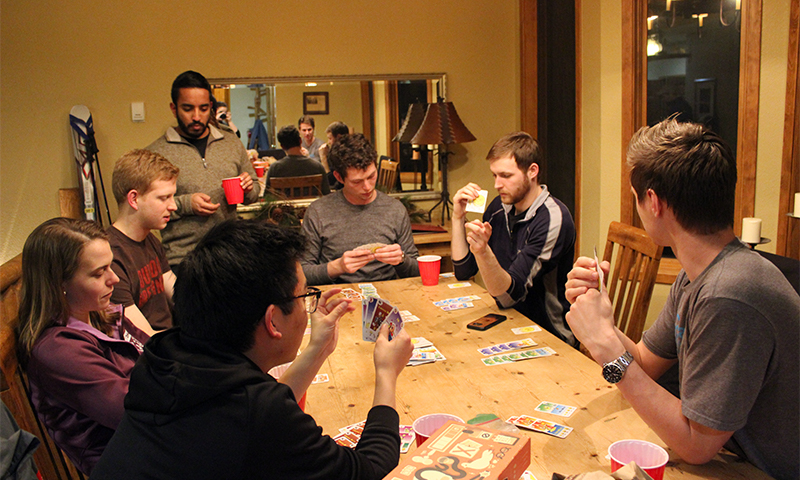 Playing cards - Nikhil Holay, Jeff McCormick, David Berno