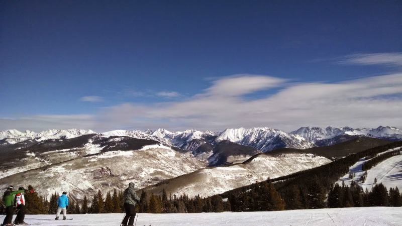 DMC engineers ski at Vail, Colorado for a company culture event.