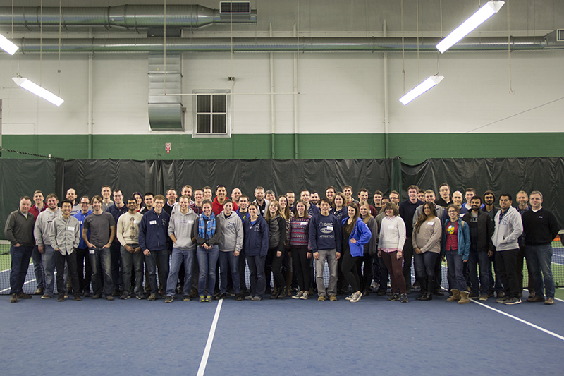 Group photo of DMC's Chicago office at the ADCM
