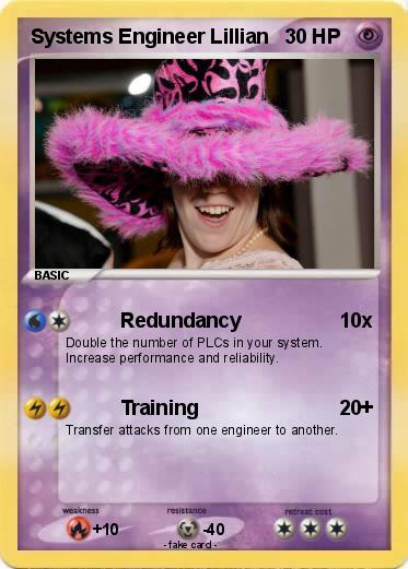 Systems Engineer Lillian's Pokemon Card