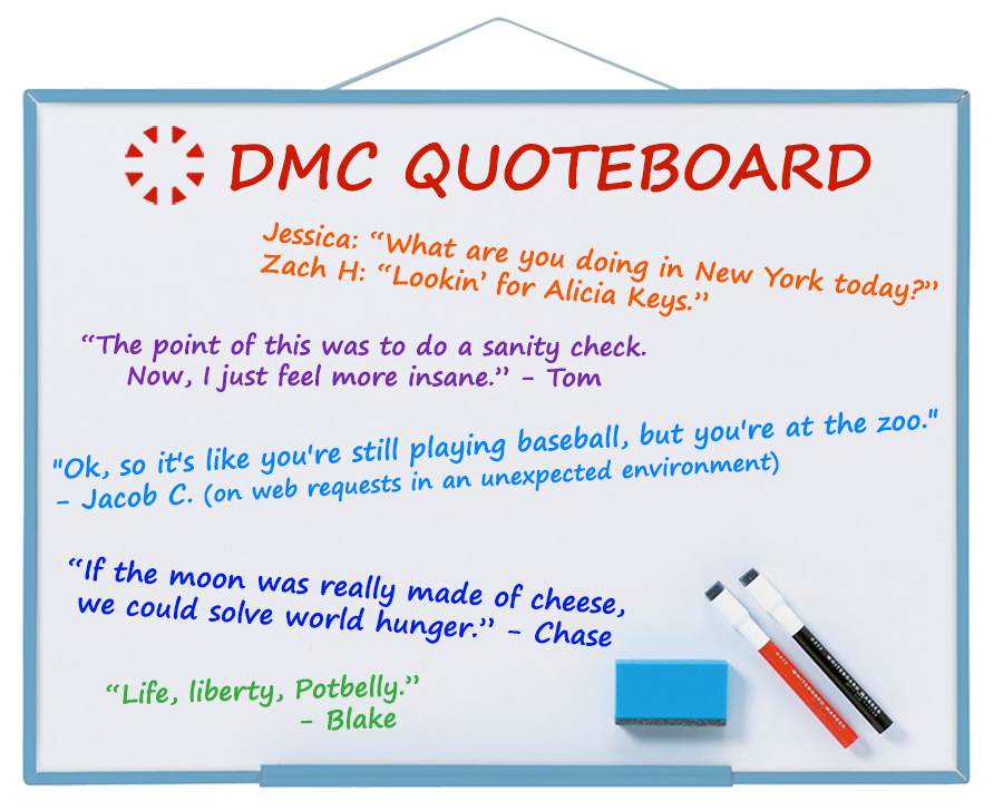 DMC quotes Dec 2019