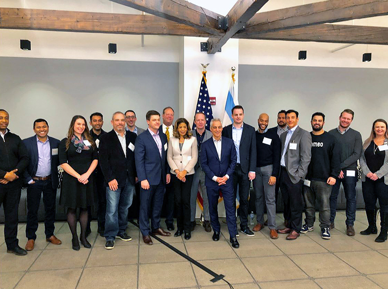 16 local companies were recognized for growing Chicago's tech sector
