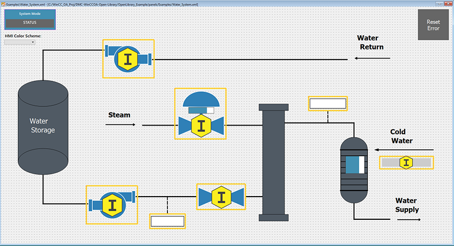 WATER SYSTEM DEV SCREEN