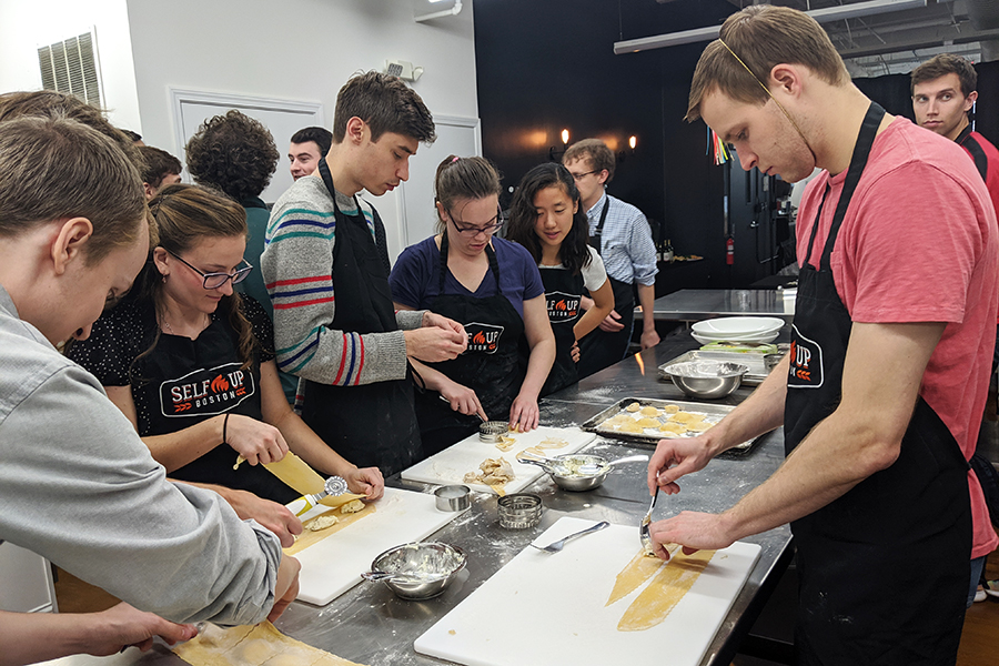 DMC Boston cooking class