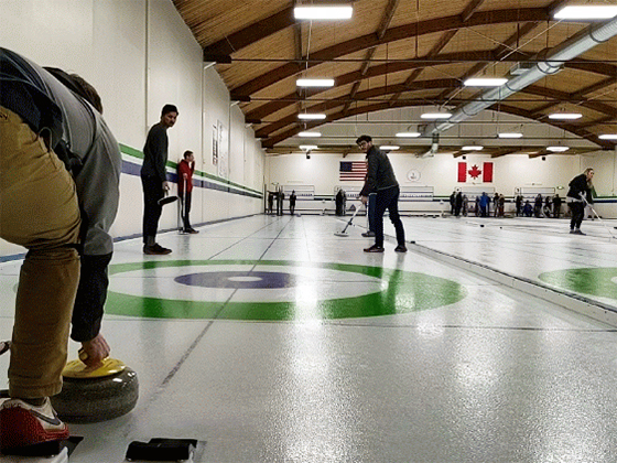 DMC Seattle curling