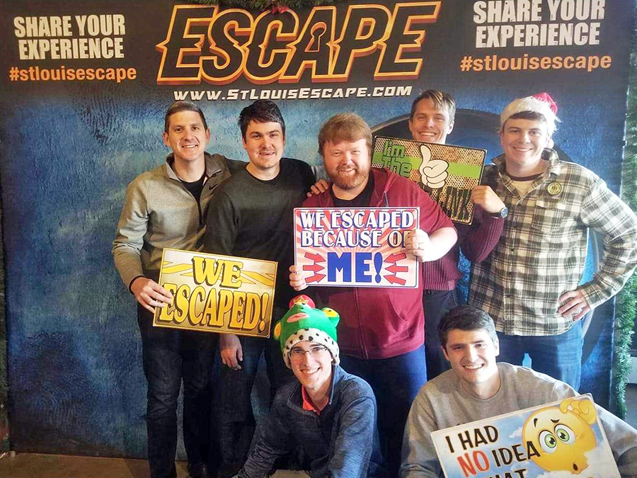 DMC STL at an escape room