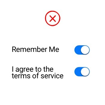 Using a checkbox in design