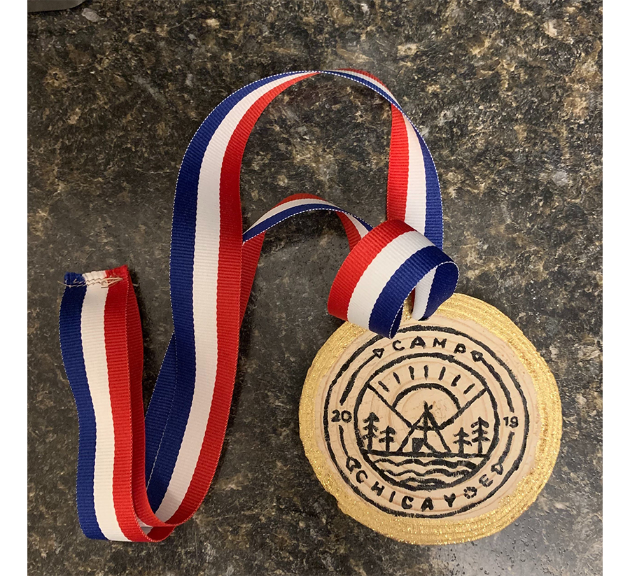 DMC Chicago camp medals