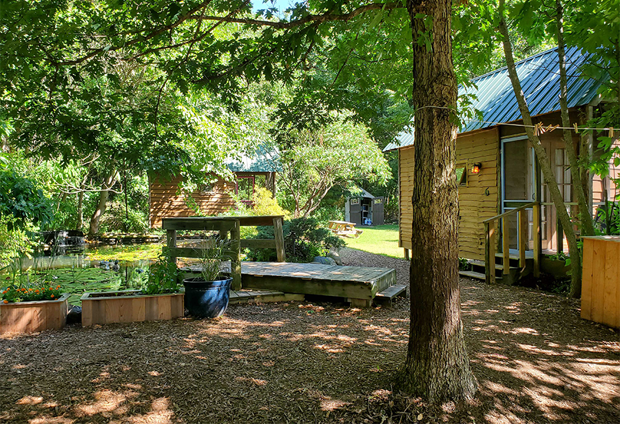 Cabins at Camp Chicayoe