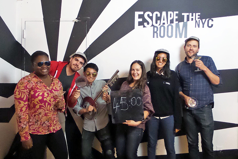 DMC New York employees participated in Escape the Room NYC