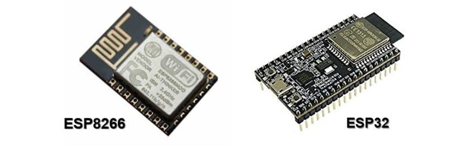 esp microcontrollers