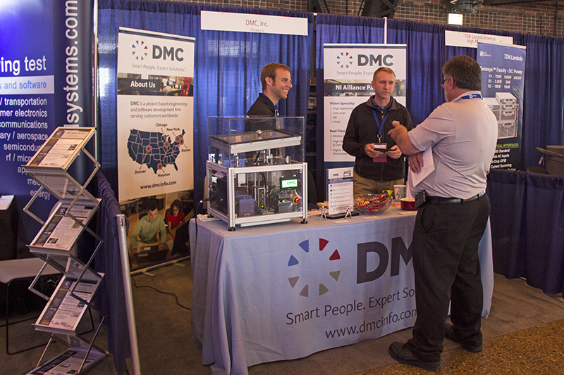 DMC's Booth at NIDays Chicago 2015