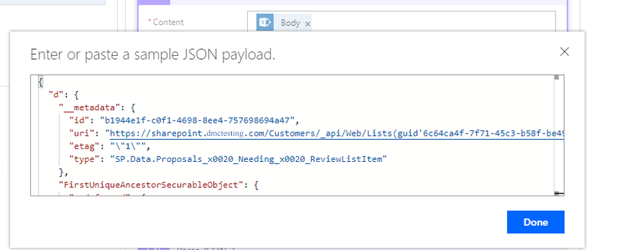 parsing json load