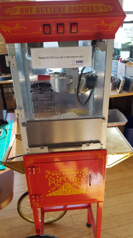 IOT Popcorn Machine