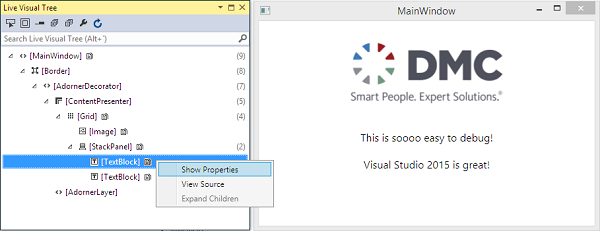 Visual Studio 2015 Debugging Tips | DMC, Inc
