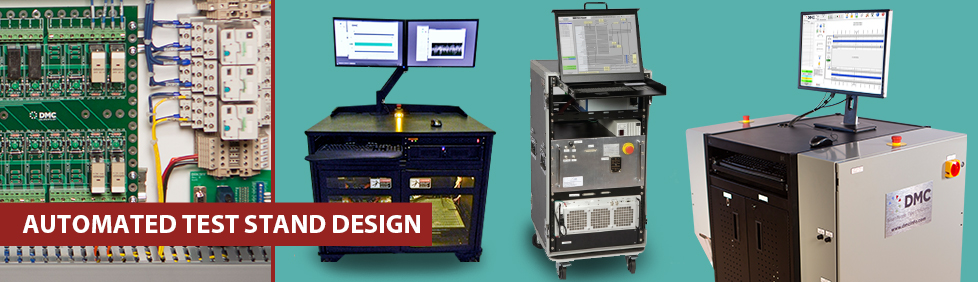 Stand Designs Quiz : Automated test stand design dmc inc