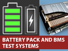 Battery Pack and Battery Management Automated Test Systems
