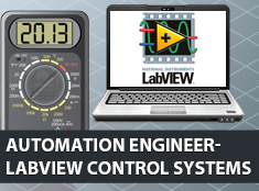 Automation Engineer – LabVIEW Control Systems