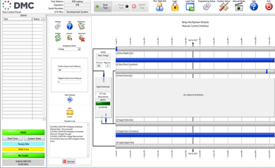 BMS Test Stand - Main User Interface and System State Diagram