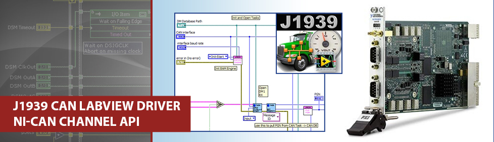 J1939 LabVIEW Drivers