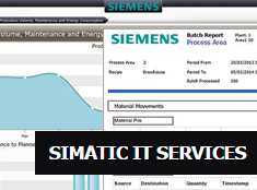 SIMATIC IT Engineering Services for MOM and MES Solutions