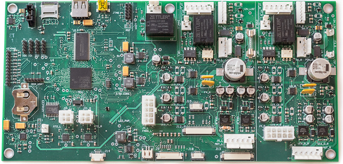 Custom Printed Circuit Board (PCB) by DMC