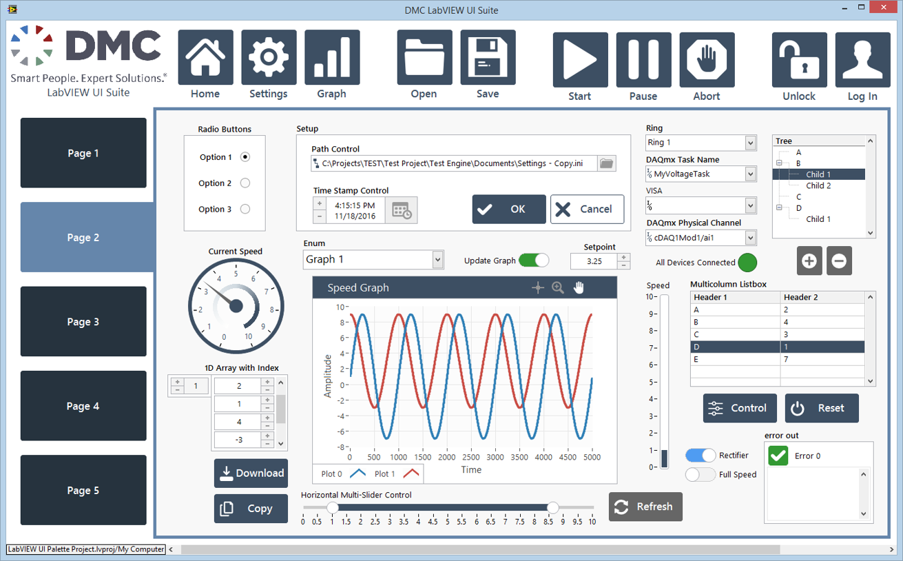 LabVIEW UI Suite | DMC, Inc
