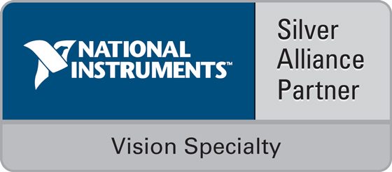 National Instruments Silver Alliance Partner - Vision Specialty Badge