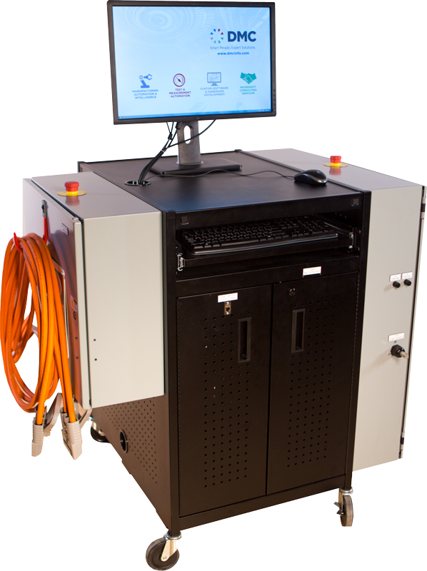 DMC's Battery Test Stand for Harsh and Extreme Environmental Conditions