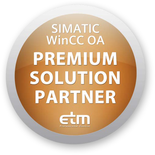 SIMATIC WinCC OA Premium Solution Partner Logo
