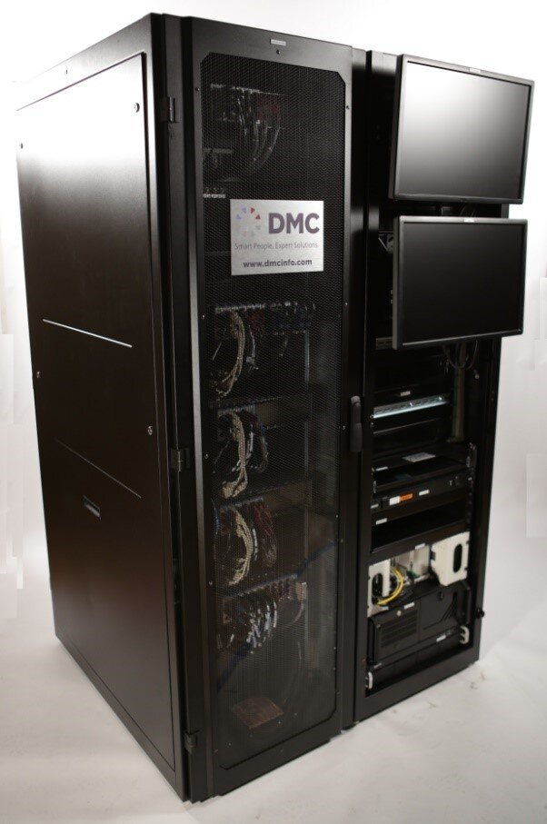 dmc battery test stand