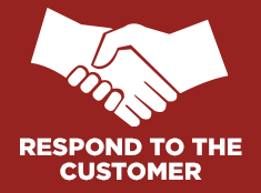 Respond To The Customer