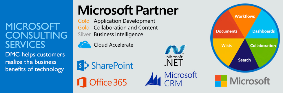 DMC helps businesses make the most of all the features SharePoint has to offer.